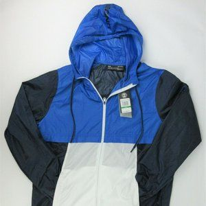 NWT $80 Under Armour Mens L UA Hooded Jacket